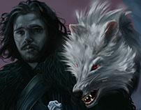Winter is almost here Jon Snow!