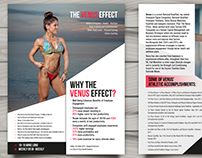 Brochure Design for The Venus Effect