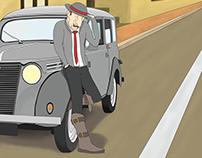 Character Design - Belleville Rendez-Vous