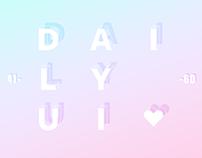 Daily UI 41-60
