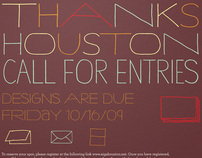 AIGA Houston Give Thanks Call For Entries