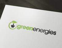 """Green energies"" - winner of logo contest"