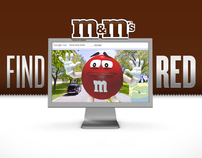 "M&M's ""FIND RED"""