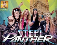 Steel Panther Ad Mat