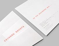 Chiharu Shiota — 'In the beginning was...' Invitation