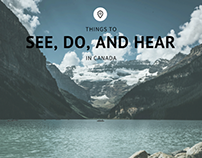 Things to See, Do, and Hear in Canada | Shane Krider
