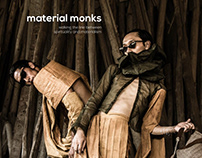 HIGH FASHION EDITORIAL | MATERIAL MONKS