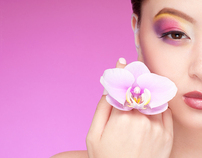 ORCHID BEAUTY | Andrea Leanne @ Benz Models | Mar 2012