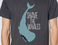 T-shirt - Shave the Whales