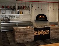 Italian Restaurant Interior