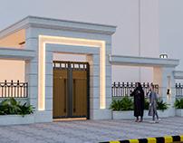 Home entrance redesign