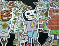 stickers....