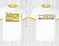 40th Anniversary NSCA Retro Tees
