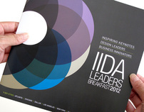 IIDA Leaders Breakfast 2012 Event Branding