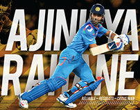 Ajinkya Rahane & R.Ashwin [player profiles]