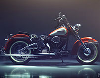 The Vegas-born Harley Davidson Electra Glide
