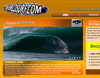 Worldsurf.com Web Interface