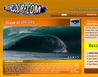 Worldsurf.com Web Interface