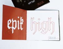 Cancionero Epik High - Songbook, editorial design