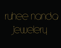 Identity Design- Ruhee Nanda Jewelery