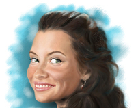 Portrait of Evangeline Lilly