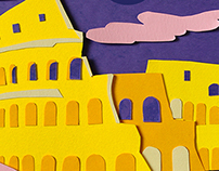 Papercut Cities - Baci® Perugina®
