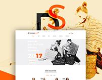 Dream shop UI/UX Web design