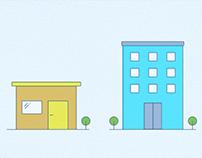 Illustration Building