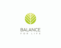 Logo | Balance For Life — healthy food