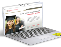 "Northeastern University ""Online Program"" Mailer"