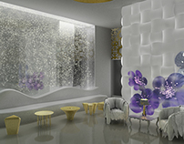Hotel Dahlia Dubai - Interior Design project