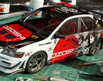 Ozoshi Racing Evo Miniature