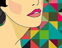 Celebrity   illustrations for magazine