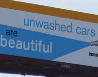 Water Conservation Awareness billboard campaign