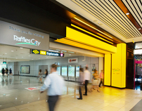 Raffles City Shopping Centre Signage System