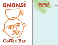 Anansi Coffee Bar (branding)