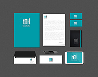 MH STUDIO Office for Design & Construction - Logo Desig