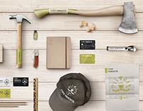 Фирменный стиль и брендинг строительной компании