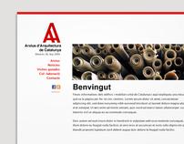 Arxius d'Arquitectura de Catalunya (mockup 1)