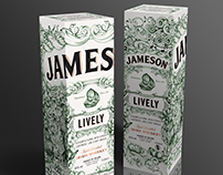 Jameson Whiskey - Deconstructed Series 'LIVELY'