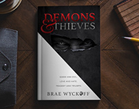 Demons & Thieves Book Cover Design