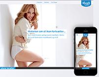Sloggi Danmark campaign site