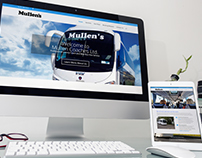 Mullen.ie / Website Design