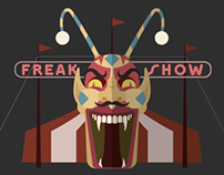Freak Show Illustrations