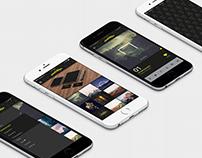 Portfolio App UI Concept