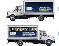 Truck Signage for non-profit social enterprise