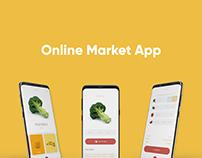 Gue Online Market App UI Design