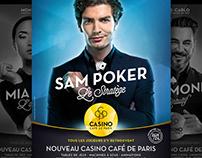 Display campain - Casino Café de Paris - Monaco