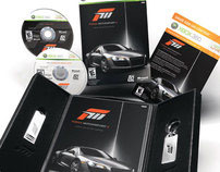 Forza Motorsports 3 - Visual Identity and Packaging