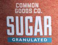 COMMON GOODS SUGAR | PACKAGING & BRANDING